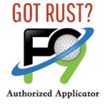 F9 Applicator Rust Removall
