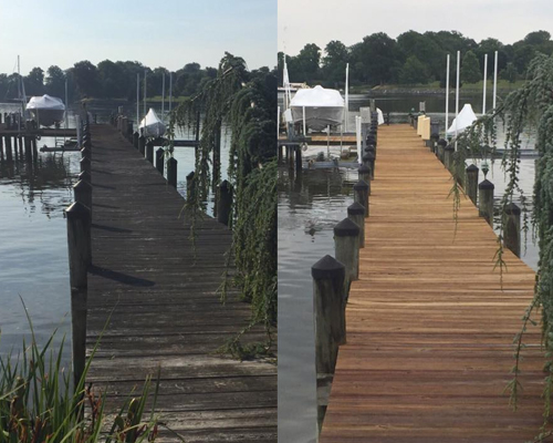Deck & Dock Cleaning