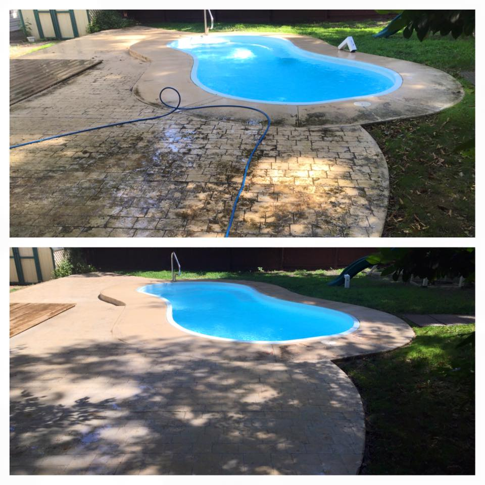 Concrete Cleaning Easton MD